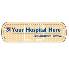 TCT107 - Bandage Health Care Shaped Magnet - Digital<br><font color=#1fba2d>Production Time: 1-3 Days</font><br><font color=#ff0000><i>As Low As: $0.25</i></font> - thumbnail